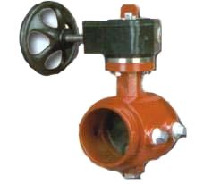 Grooved-End Butterfly Valve
